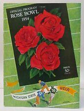 1954 ROSE BOWL Michigan State vs UCLA football program