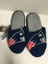 Nfl Forever Collectibles Men Size M 9-10 Blue Winter Slip-on Slippers. New.  R14