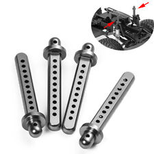 4PCS 1/10 RC Aluminum Body Post Mounts For AXIAL SCX10 Crawler Truck Cars