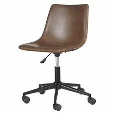 Ashley Furniture Home Office Swivel Desk Chair In Brown
