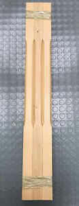 41mm X 90mm Stop Chamfered Stair Spindle - OAK PRE VARNISHED PACK 6