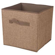 Contenitori e scatole marrone senza coperchio per la casa