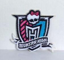 Monster High Muñecas de escuela Parche Bordado Apliques Cresta Coser O Hierro #153
