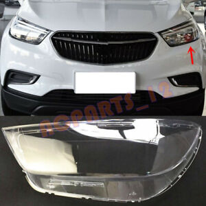 Left Side Headlight Cover Transparent PC With Glue For Buick Encore 2016~2018