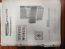 Seeburg jukebox  machine manual paperwork SPS160 / ESPS160