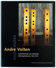 Christoph Brockhaus / André Volten: Konstruktion und Struktur - Ausstellungskata