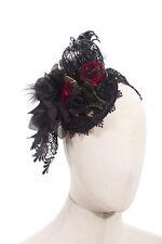 Gothic Victorian Steampunk Birdcage Hat Fascinator Wedding Vintage