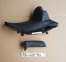BMW F30 F31 F34 F35 Handbremshebel RHD  handbreak leather black 9235428
