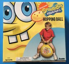 Spongebob Squarepants Outdoor Hopping Ball With Handle By Franklin Sports NEW
