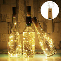 1-6x 1.5M 20 LED Cork Lights on a String, Bottle Stopper Fairy Light For Wedding