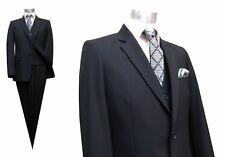 Herren Anzug 3-teilig Muga Gr.36 Schwarz