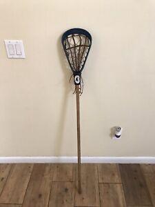 "Rare 70's Antique Collectible Vintage Amisco Warrior Lacrosse Stick 51.5"" Wooden"