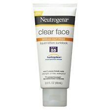 Neutrogena Clear Face Sunscreen Lotion SPF 55 Oil - 89ml