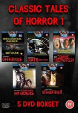 5 DVD Boxset Collection of Cult Classic Tales of Horror films 1