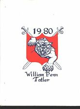 York PA William Penn High School yearbook 1980 Pennsylvania