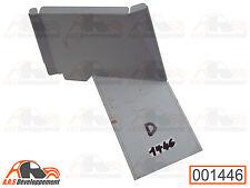 TOLE NEUVE de réparation sous caisson banquette (DROITE) de Citroen 2CV -1446-