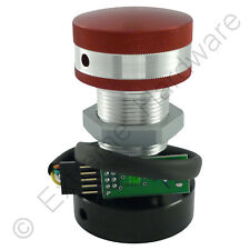 Ultimarc SpinTrak Arcade USB Rotary Spinner Large Flyweight & Red/Silver Knob