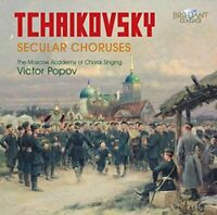 The Moscow Academy of Choral Singing - Tchaikovsky: Secular Choruses [CD]
