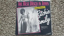 """Ritchie Family-the best disco in town remix/American Generation 12"""" vinyle"""