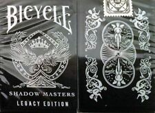 Carte da gioco Bicycle SHADOW MASTERS LEGACY EDITION, poker size by Ellusionist