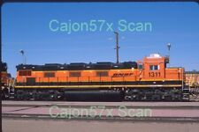 Original slide- BNSF 3GS21C-DE #1311 GenSet At Barstow,CA. 11/20 (Now Retired)