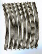 8 x FLEISCHMANN 9130  Curved track  R3    N Gauge  (2)