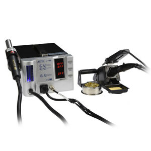 Aoyue 738H 5 in 1 Digital Soldering Iron & Hot Air Station Complete Kit- 110 ...