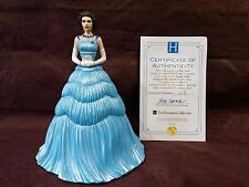 Hamilton Collection Queen Elizabeth II Meets The Kennedys Figurine COA