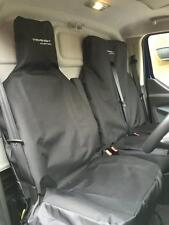 Ford Transit Custom Van Seat Covers emboidered with logo Made to order in UK