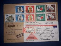 Recorded Delivery West Germany - Sweden 1967 with some contents, see details.