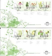 NEDERLAND 749A + B Botanische tuinen in Nederland