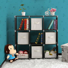 Storage Cube Organizer Closet Maid 9 Black Closet Stacker Clothes Modular Cubes