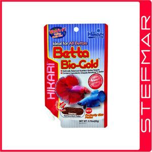 Hikari Betta Bio-Gold 20g Siamese Fighting Fish Floating Pellets Food Tropical
