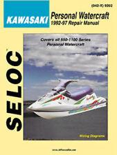 SELOC 9202 REPAIR MANUAL For KAWASAKI PERSONAL WATERCRAFT   9202