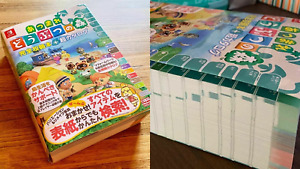 Animal Crossing New Horizons Complete Guide Catalog Art Book JP Nintendo Switch