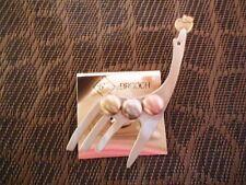 (00084) aussergewöhnliche Brosche - Giraffe - tolle Optik
