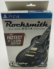 Rocksmith 2014 Edition (Sony PlayStation 4, 2014) Sealed Game w/ Real Tone Cable