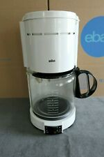Braun Aromaster Type 4077 230 Coffeemaker 12 Cup & Permanent Filter ~ Germany