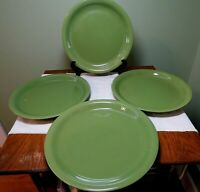 """Mainstays Stackables Dinner Plate Green Stoneware 10 7/8""""  Dishw Microw Safe GO3"""