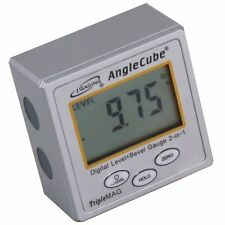 NEW iGaging AngleCube Digital Level + Bevel Gauge 2 in 1 FREE SHIPPING