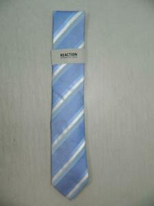 Kenneth Cole Reaction Men's Stripe Classic Tie Polyester Blend NWT MSRP A12