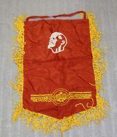 Soviet Union USSR Pennant RED Flag Banner Vintage Propoganda 35/60cm Lenin
