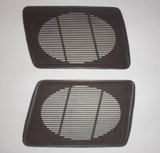 Used 1984 84 Chevrolet Chevy Caprice Impala  brown speaker grilles set