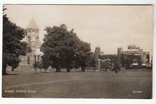 [61492] OLD REAL PHOTO POSTCARD SCHOOL CLOSE, RUGBY, WARWICKSHIRE, ENGLAND