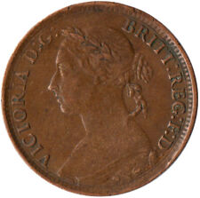 More details for 1884 one farthing of queen victoria / very nice collectible coin #wt2362