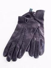 Lauren Ralph Lauren Women's Leather Gloves Black NWOT Size M