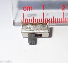 ^ 25 pcs slide switch, SPDT, PCB, side mount