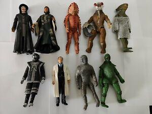 Dr who action figures bundle