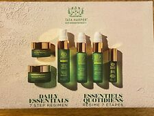 TATA HARPER Tata's Daily Essentials 7 step regimen set next generation beauty