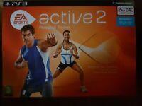EA Sports Active 2 (Sony PlayStation 3, 2010) - European Version